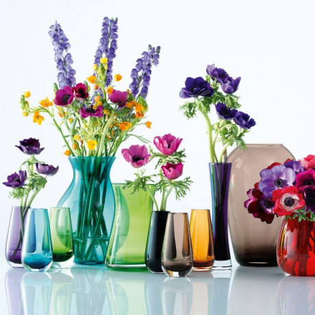Ваза для цветов бирюзового цвета 14см Flower Colour, LSA international - 24202