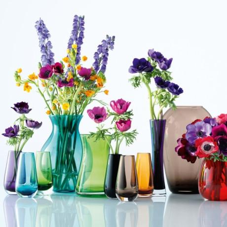 Ваза для цветов янтарного цвета 14см Flower Colour, LSA international - 24204