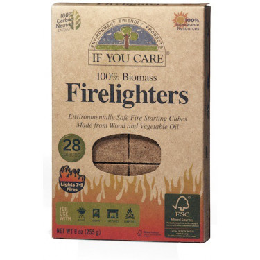 Кубики для разжигания костра 28шт, If You Care - 15278