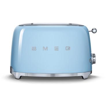 Тостер на 2 тоста пастельно-голубой, SMEG - 70267