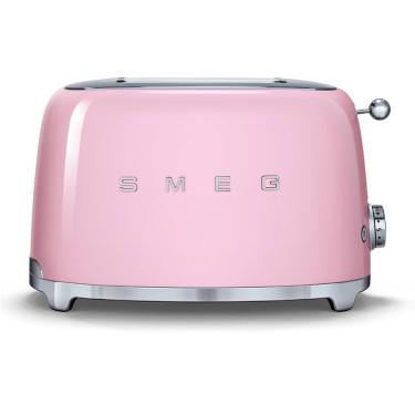 Тостер на 2 тоста розовый, SMEG - 71429