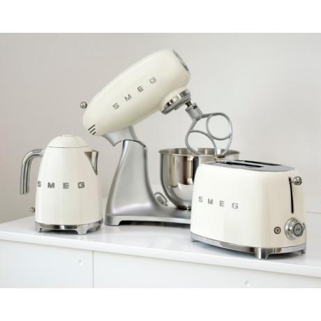 Тостер на 2 тоста кремовый, SMEG - 70265
