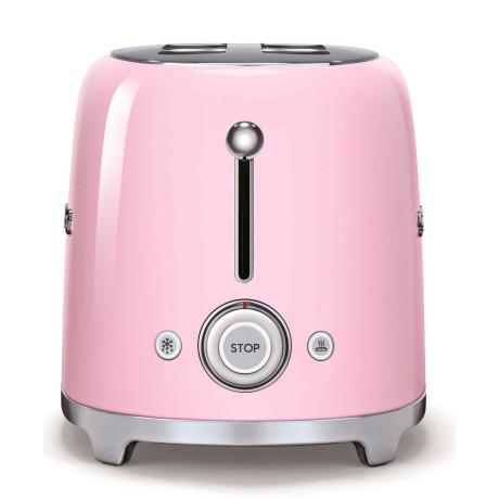 Тостер на 4 тоста розовый, SMEG - 73728