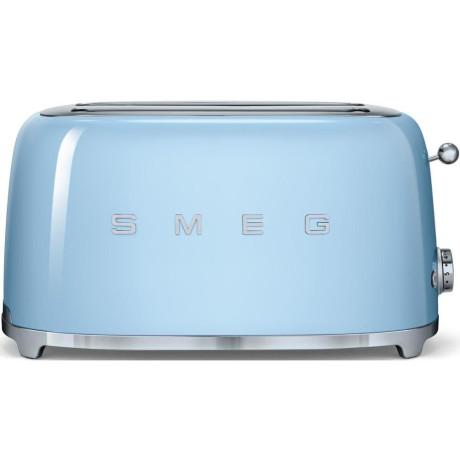 Тостер на 4 тоста пастельно-голубой, SMEG - 70270