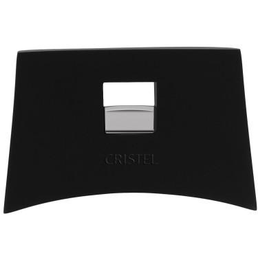 Ручка съемная боковая чёрная Mutine Removable, Cristel - 15514