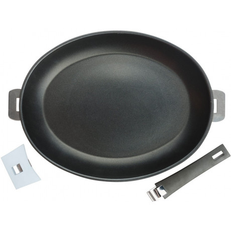 Сковорода с антипригарным покрытием Mutine Removable 35см, Cristel - 16276