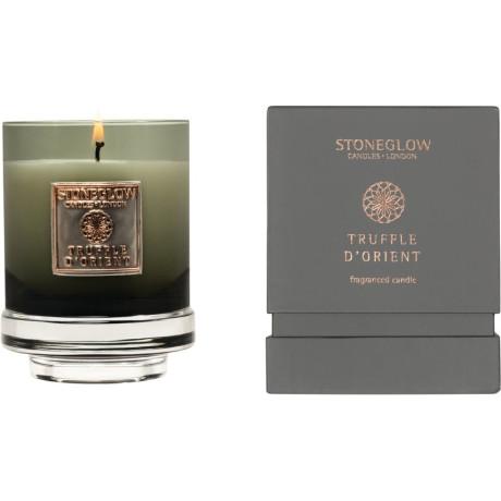 Свеча ароматическая Truffle D'orient (тумблер) 11x8,5см Metallique, Stoneglow - 30839