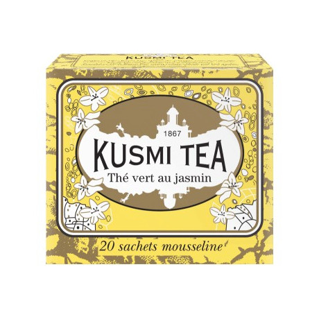 Чай зеленый Жасмин пакет. 20х2,2г, Kusmi Tea - 25173