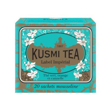Чай зеленый Империал Лейбл пакет. 20х2,2г, Kusmi Tea - 25170