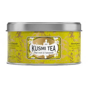Чай зеленый Миндаль 125г, Kusmi Tea - 21071