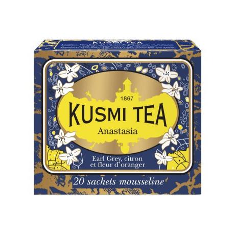 Чай черный Анастасия пакет. 20х2,2г, Kusmi Tea - 21086