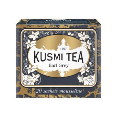 Чай черный Ерл Грей пакет. 20х2,2г, Kusmi Tea - 21094