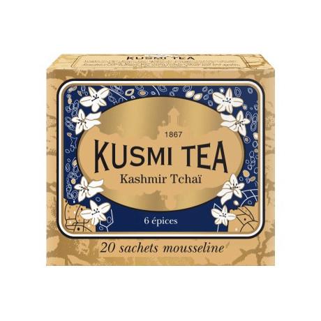 Чай черный Кашмир Чай пакет. 20х2,2г, Kusmi Tea - 25174