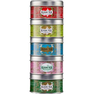 Набор зеленого чая 5х25г, Kusmi Tea - 25165