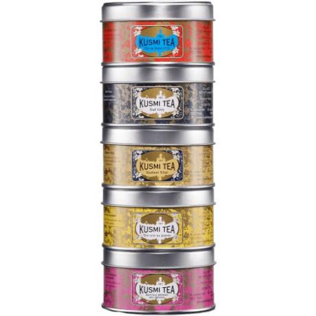 Набор чая Моменты 5х25г, Kusmi Tea - 25164