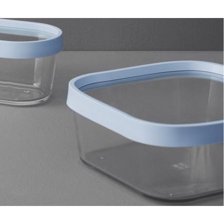 Емкость для хранения и выпекания светло-голубая средняя, Rig-Tig - 28870