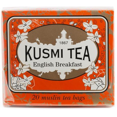 Чай черный Английский завтрак пакет. 20х2,2г, Kusmi Tea - 21087