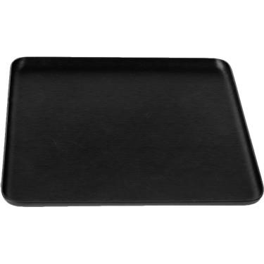 Поднос квадратный черный 16x16см, Kaymet - 31026