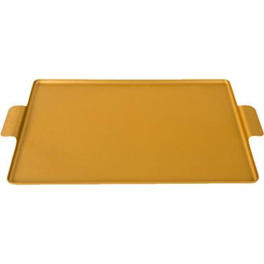 Поднос золотистый 32x25см, Kaymet