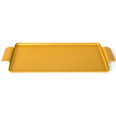 Поднос золотистый 35x17,5см, Kaymet - 31022