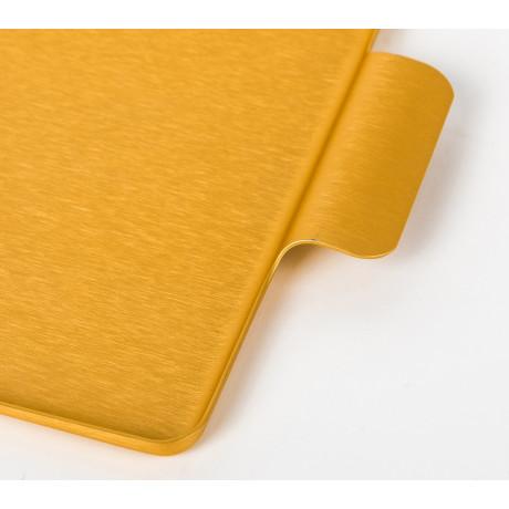 Поднос золотистый 37x27,5см, Kaymet - 31018