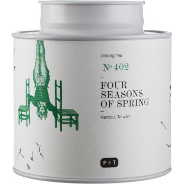 Чай улун Четыре сезона весны (Наньтоу, Тайвань) органический 100г, P & T