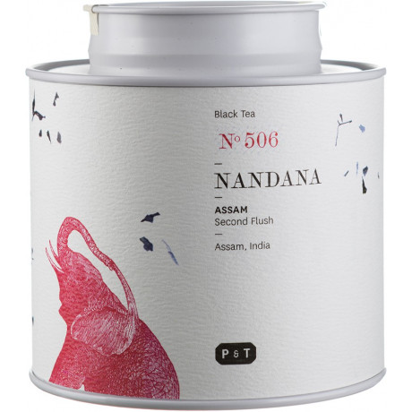 Чай черный Ассам (Нандана, Индия) 80г, P & T - 28417