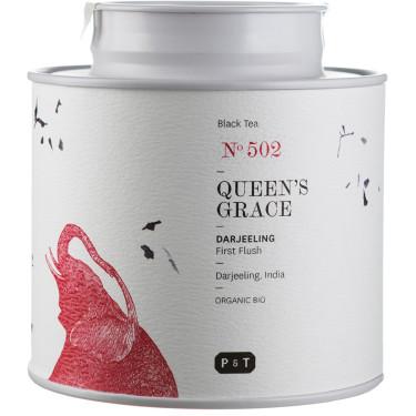 Чай черный Королевская Грация (Дарджилинг) из Индии органический 80г, P & T