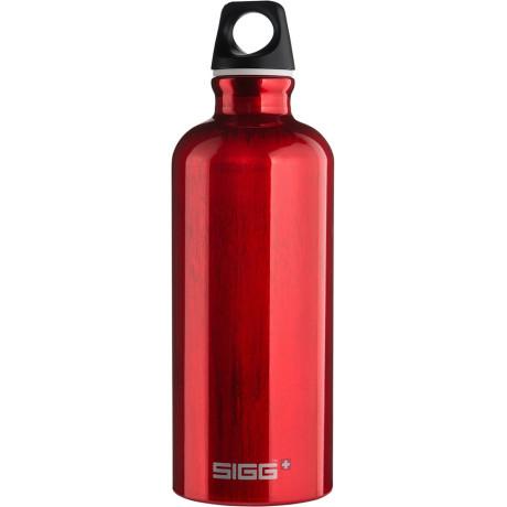 Бутылка спортивная красная 600мл Traveller, Sigg - 31613