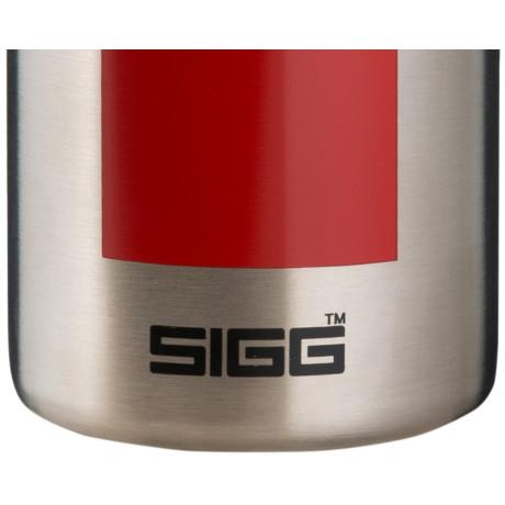 Термос серебристо-красный 500мл Hot & Cold, Sigg - 31766