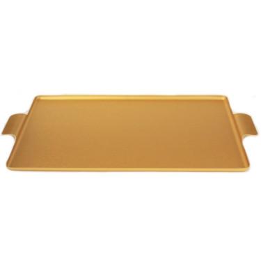 Поднос медного кольору 42x30см, Kaymet - 33672
