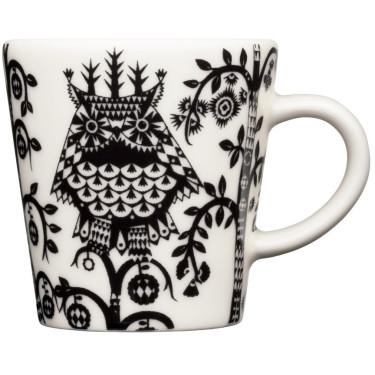 Чашка для эспрессо с черным рисунком 100мл Taika, iittala - 18734