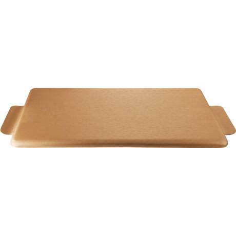 Поднос медного кольору 35x17,5см, Kaymet - 33673
