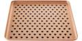 Поднос перфорованый медного кольору 16x16см, Kaymet - 33674