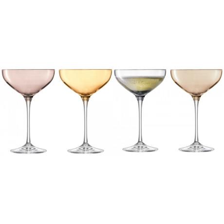 Бокал для шампанского цветной металлик 390мл Polka, LSA international - 34725
