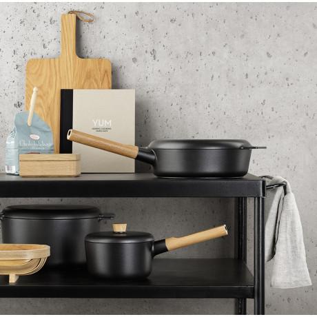 Сковорода глубокая черная 24см Nordic Kitchen, Eva Solo - 35400