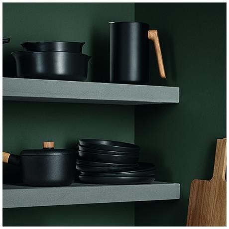 Тарелка черная керамическая 21см Nordic Kitchen, Eva Solo - 35314