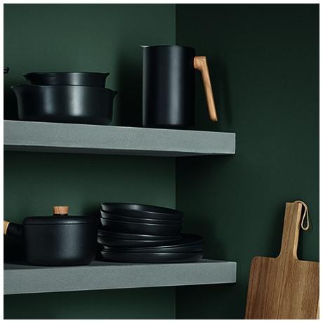 Тарелка глубокая черная керамическая 20см Nordic Kitchen, Eva Solo - 35313