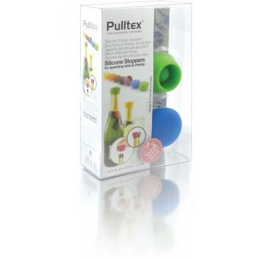 Пробки силиконовые для бутылки игристого вина (2шт в уп), Pulltex
