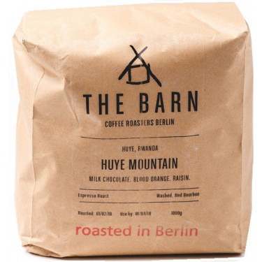 Кофе зерновой Руанда Huye Mountain 1кг, The Barn - 30754