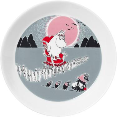 Тарелка Приключение Moomin