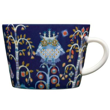 Чашка синяя с рисунком 200мл Taika, iittala - 19298