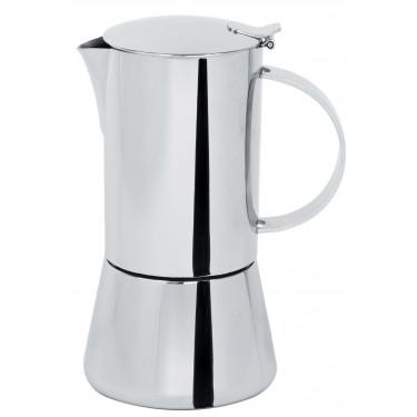Кофеварка гейзерная индукционная на 6 чашек Capri глянцевая, Cristel