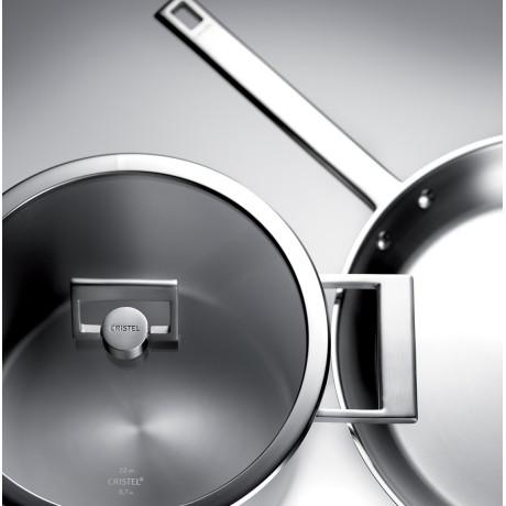 Сковорода Strate Fixed 24см, Cristel - 15388