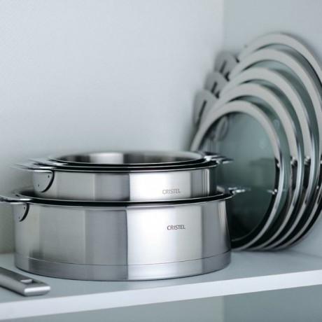 Сковорода для блинов с антипригарным покрытием Mutine Removable 26см, Cristel - 17953