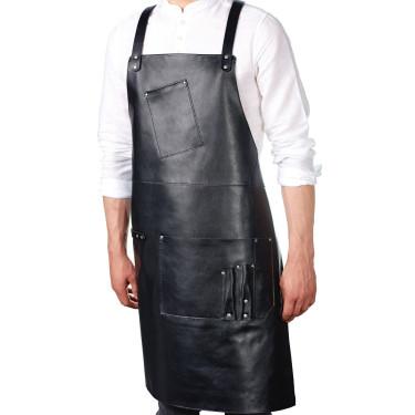 Фартук кожаный Soft Black, Behind The Bar - 82251