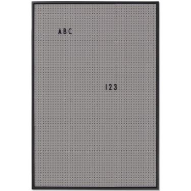 Месседж борд А2 серый, Design Letters