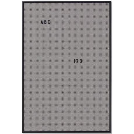 Месседж борд А2 серый, Design Letters - 40464