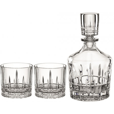 Набор для виски графин (0,750л) 2 бокала Perfect Serve, Spiegelau - 38738