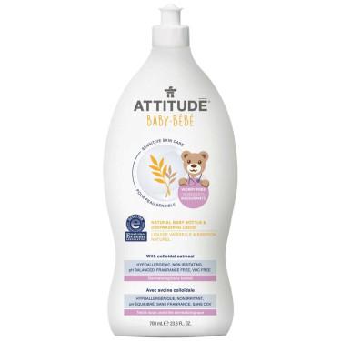 Моющее средство для детской посуды 700мл, Attitude - 41187